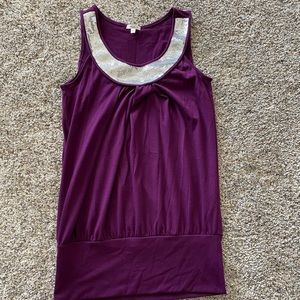 Maurices embellished top size small